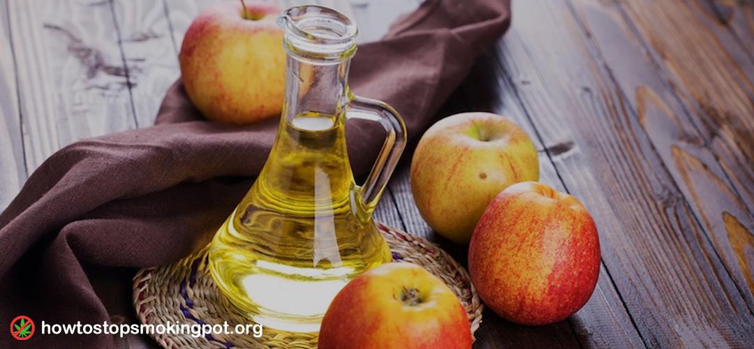 Apple Cider Vinegar to detox marijuana